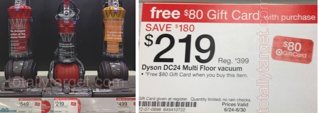 Huge Savings On Select Dyson Vacuums At Target