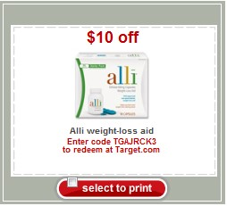 graphic relating to Alli Coupon Printable identified as Clean $10/1 Alli Fat Reduction Concentrate Coupon Stack