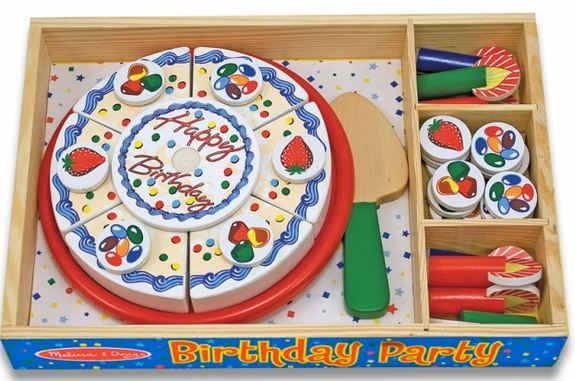 Marvelous Quick Giveaway Melissa Doug Birthday Party Sets Totallytarget Com Funny Birthday Cards Online Alyptdamsfinfo