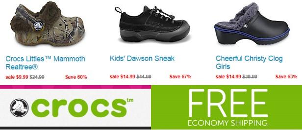 crocs-free-shipping