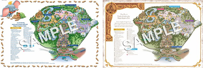 graphic relating to Printable Disney World Maps called Free of charge Tailored Walt Disney World wide Park Maps -