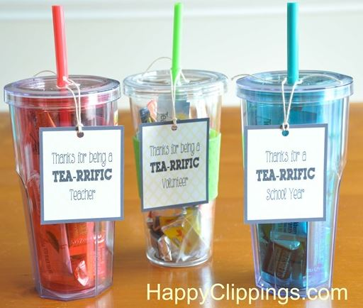 cute do it yourself teacher thank you gift idea