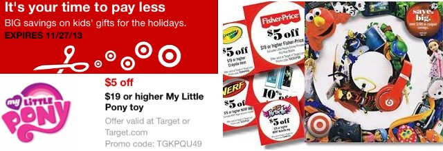 Target Toy Book 2013 : New mobile in store target coupons online
