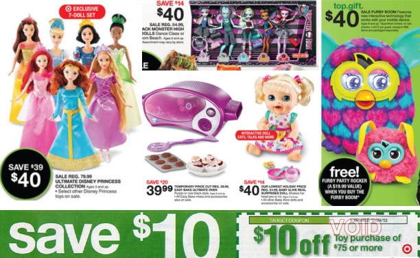Target Toy Ad : Off toy purchase target mobile coupon