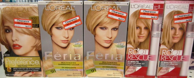 FREE L'Oreal Hair Color + $2...