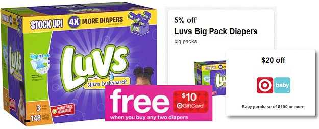 graphic regarding Printable Luvs Coupons referred to as $20 Off $100 Boy or girl Obtain Coupon Presently Out there As Printable