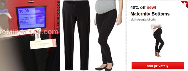 8f2ebacf39b There s another nice new high-value cartwheel this morning for 40% Off  Maternity Bottoms. Pants