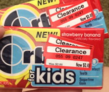 Orbit Gum Clearance Alert - Possibly as Low as FREE - TotallyTarget com