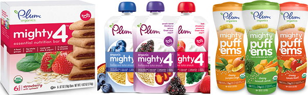 photo about Plum Organics Printable Coupon named Fresh new Plum Organics Printable Mighty Treats Discount coupons