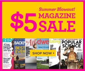 Discount mags summer sale