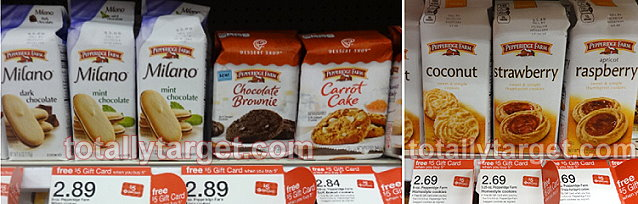 FREE $5 Gift Card wyb 5 Pepperidge Farm