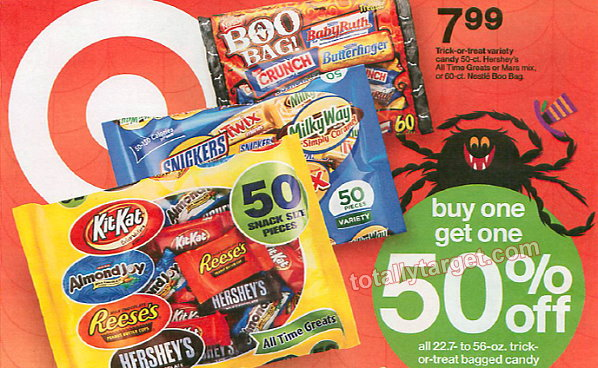Twizzlers Halloween Candy Bags 74¢ Starting 10/12