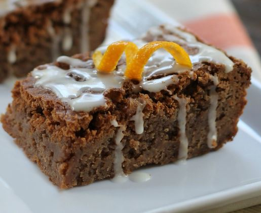 florida orange brownies