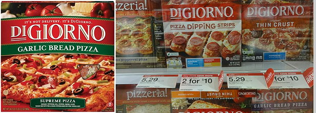 graphic relating to Digiorno Printable Coupon called Fresh $2/2 DiGiorno Pizza Printable Coupon Bundle