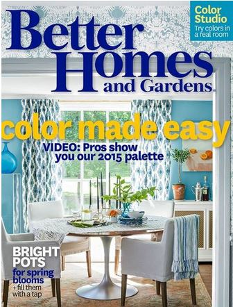 Better Homes And Gardens Magazine 1 Year