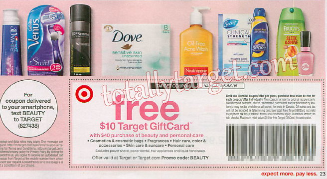 target-personal-care-coupon