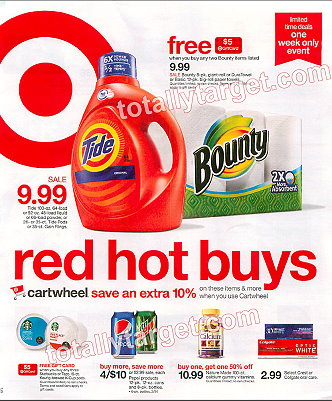 Sneak Peek Target Weekly Ad Scan For 7 12 7 18 Totallytarget Com