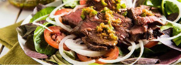ginger beef salad
