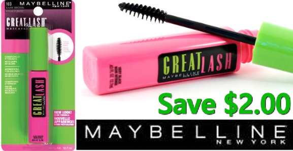 graphic relating to Maybelline Coupons Printable referred to as Superior-Price tag $2/1 Maybelline Mascara Printable Coupon