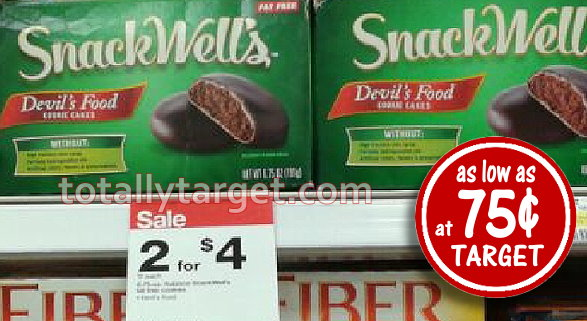 Snackwells Devils Food Cookies Only 75 At Target Totallytargetcom