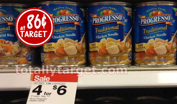 Progresso Soup 86¢ Each at Target with Stack & Sale | TotallyTarget ...