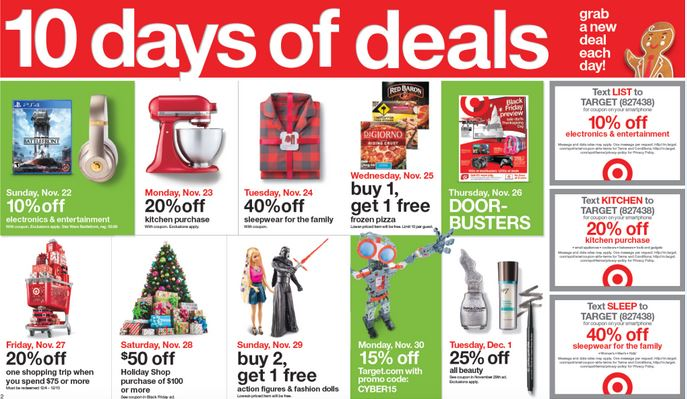 target ten days of deals