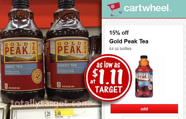 Gold Peak Tea Coupons 2018