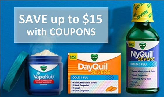 picture about Nyquil Coupons Printable referred to as $15 within just Fresh Vicks Coupon codes - Nyquil, VapoRub Further