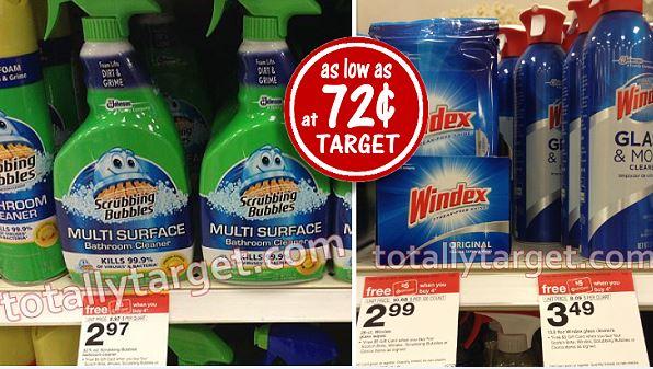 scrubbing bubbles windex wipes