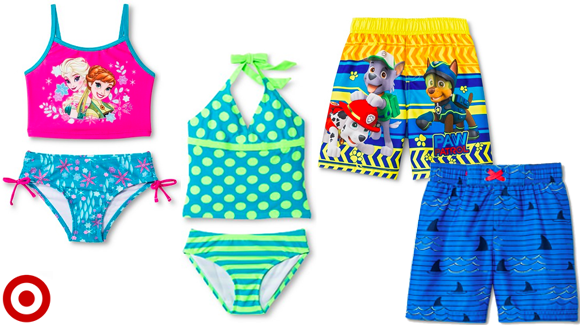 39813504c7 Now thru tomorrow, February 19th, Target.com is offering a Buy One, Get One  60% Off on kids' swimwear online only! There are some really cute girls'  bikini ...
