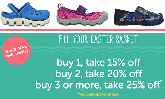 e9ee7626f7697f Crocs Flash Sale  Savings Up to 25% Off Thru 3 21 · On-Line Deals Add  comments