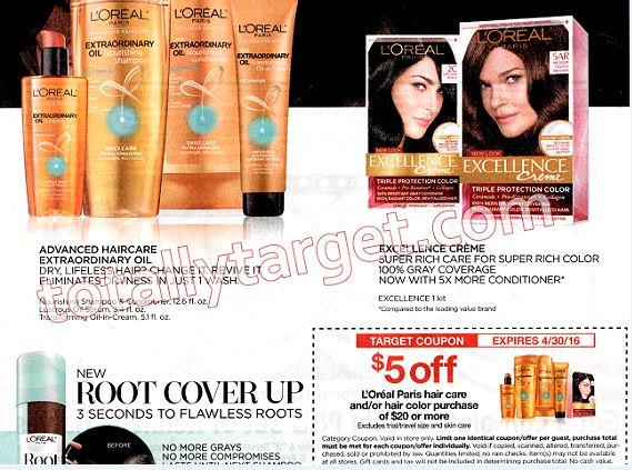 loreal target coupon