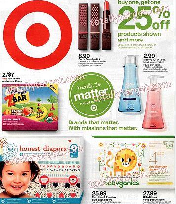 Sneak Peek Target Weekly Ad Scan For 4 17 4 23 Totallytarget Com