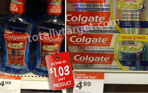 colgate oral