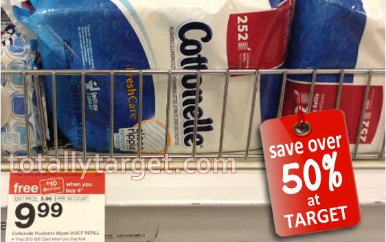 cottonelle wipes