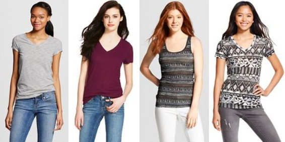 Mossimo Supply Co Tees Tanks As Low As 4 Each Totallytarget Com