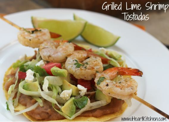 Wednesday Recipe: Grilled Lime Shrimp Tostadas | TotallyTarget.com