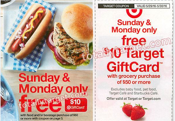 in ad target coupon