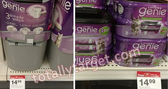 Save 50 On Litter Genie System Refill At Target Totallytarget