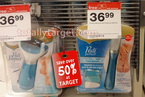 image about Amope Printable Coupon named $40 inside of Clean Superior-Significance Amope PediPerfect Printable Discount codes +