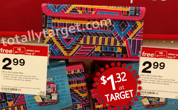 Cute Always Locker Box Storage Bins With $13 Worth Of Target