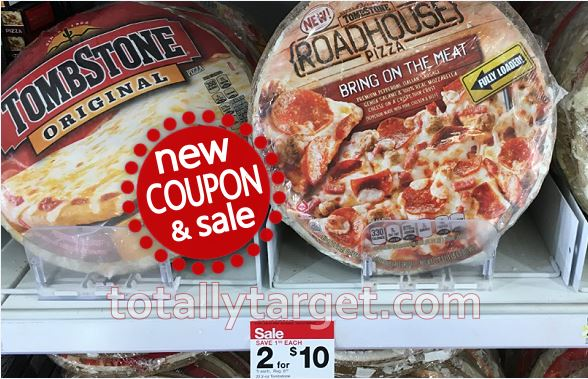 New Tombstone Pizza Coupons Target Sale Deals Totallytarget Com