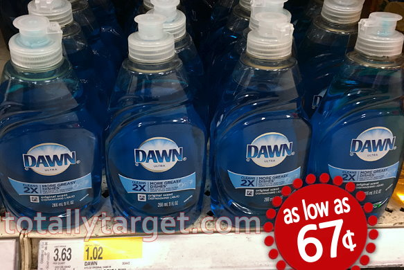 image about Dawn Printable Coupon named Sunrise or Palmolive Dish Liquid as small as 67¢ at Emphasis