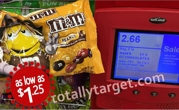 photograph regarding Mam Printable Coupon known as Clean Halloween MMs Sweet Cartwheel Focus Package