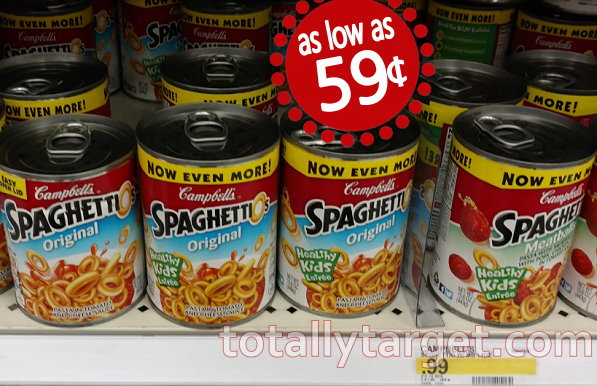 Campbell\'s Chunky Soup 95¢ With New Stack & Sale | TotallyTarget.com