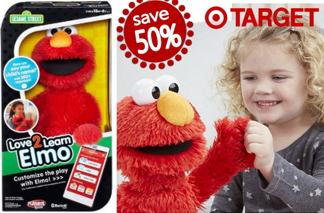Save 50 On Playskool Love2learn Elmo At Target With The Daily Toy