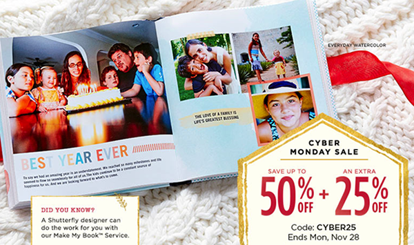 Shutterfly Extra 25 Off Sitewide Extended Totallytarget Com