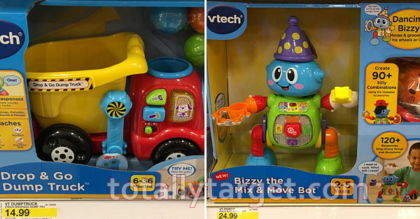 30 Off Toys Purchase Text PLAY To 827438 Target Mobile Coupon Valid 11 19 Only 20 VTech Bizzy The Mix Move Bot Cartwheel X11