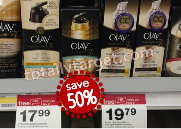 FREE $10 Target Gift Card wyb 2 Olay Skin Care - TotallyTarget com