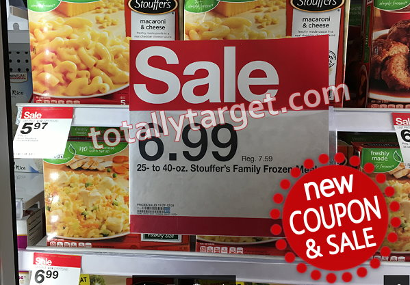 picture relating to Stouffers Coupons Printable known as $6 inside Fresh Stouffers Printable Discount codes + Aim Sale